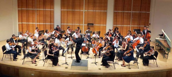 Summer String Fest 2015 Final Performance at Kaufman Music Center's Merkin Concert Hall