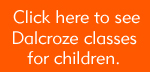 Dalcroze classes for kids at Kaufman Music Center' Lucy Moses School