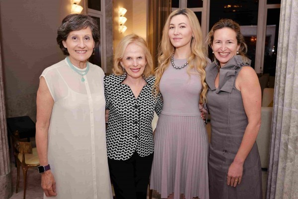 Executive Director Lydia Kontos, Board of Trustees Chairman Rosalind Devon, Host Devorah Rose Krieger, and Special Music School Advisory Board Chairman Bethany Millard