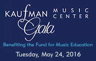Kaufman Music Center Gala