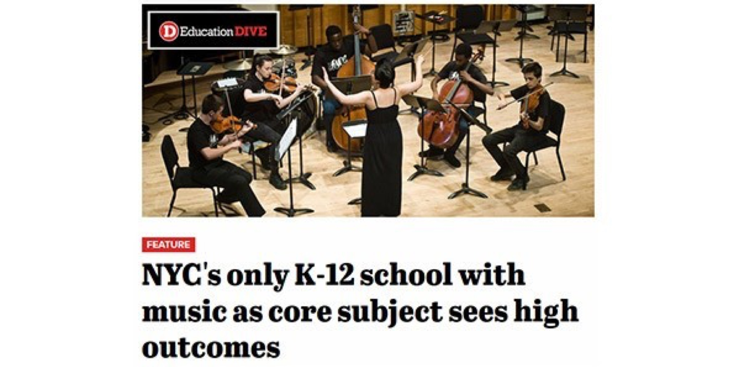 Special Music School in the News