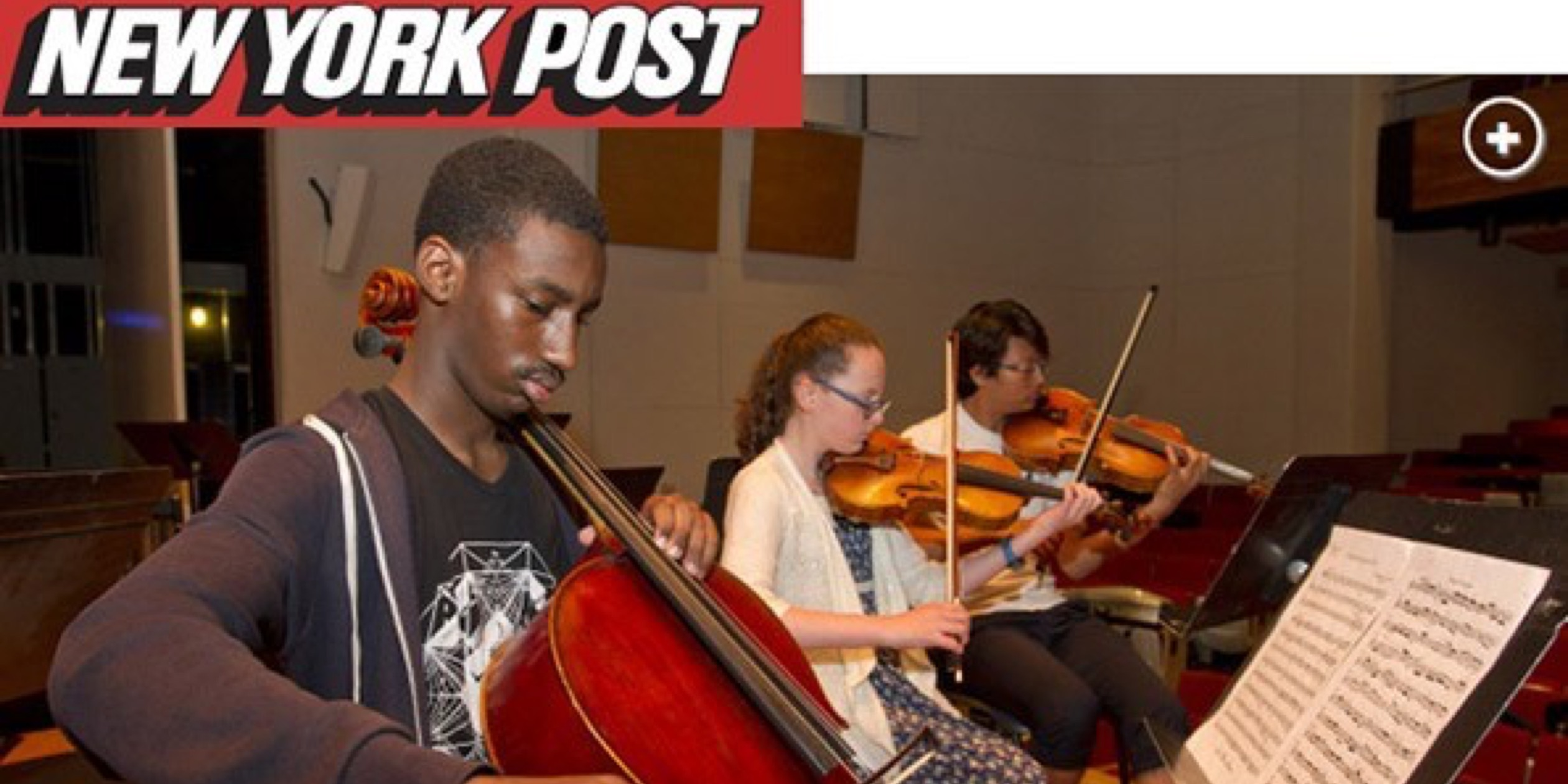 Read About Special Music School in the New York Post!