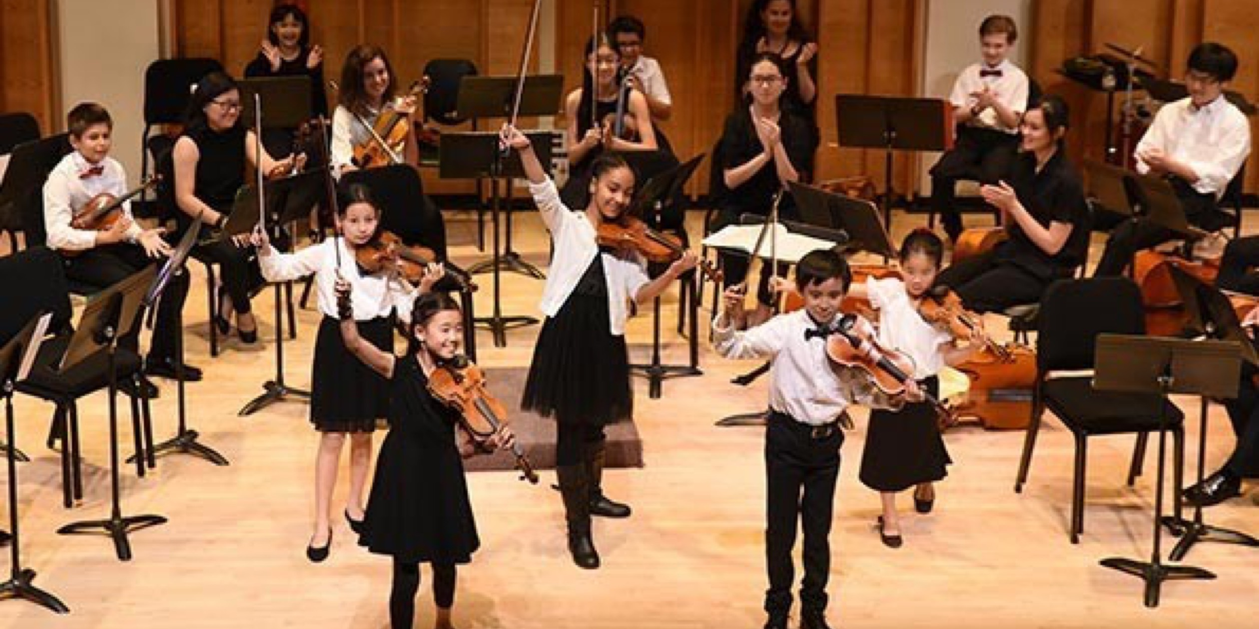 VIDEO: 2017 Summer String Fest at Lucy Moses School
