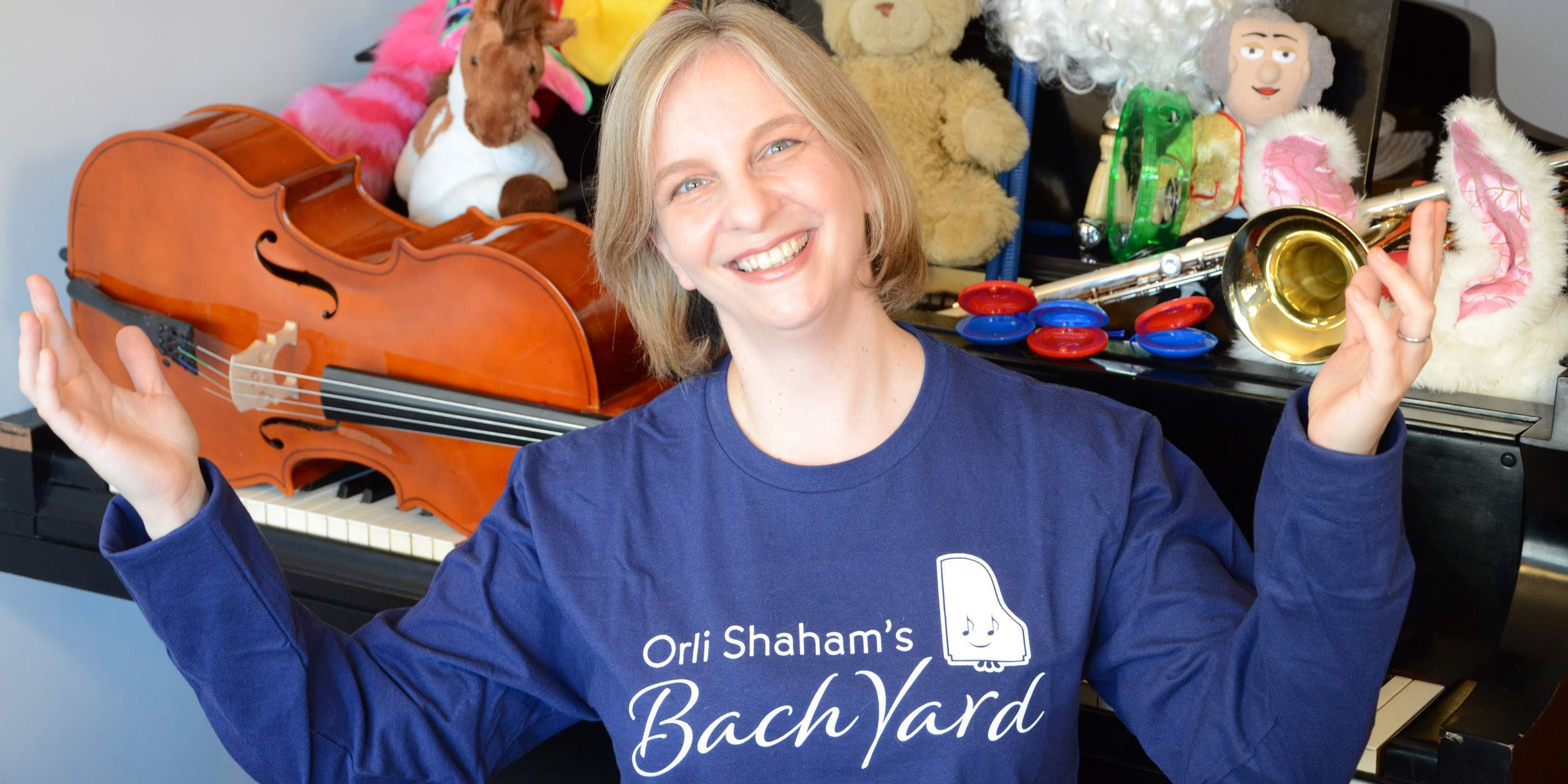 Watch Orli Shaham's Bach Yard Playdates at Home!