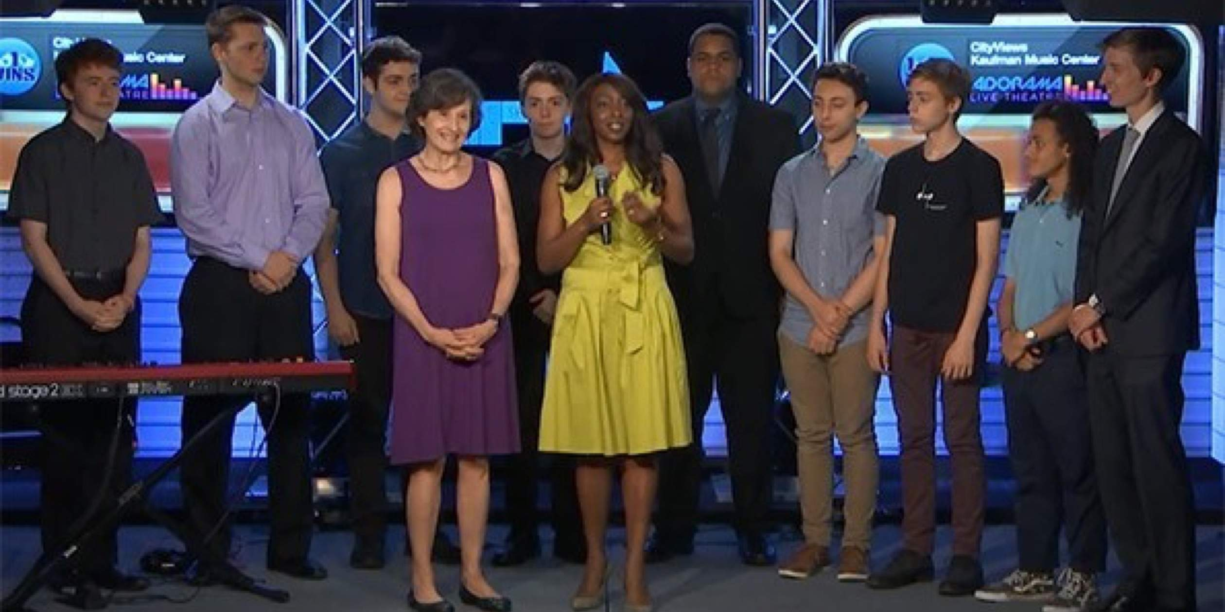 Watch SMS High School Students on CBS New York