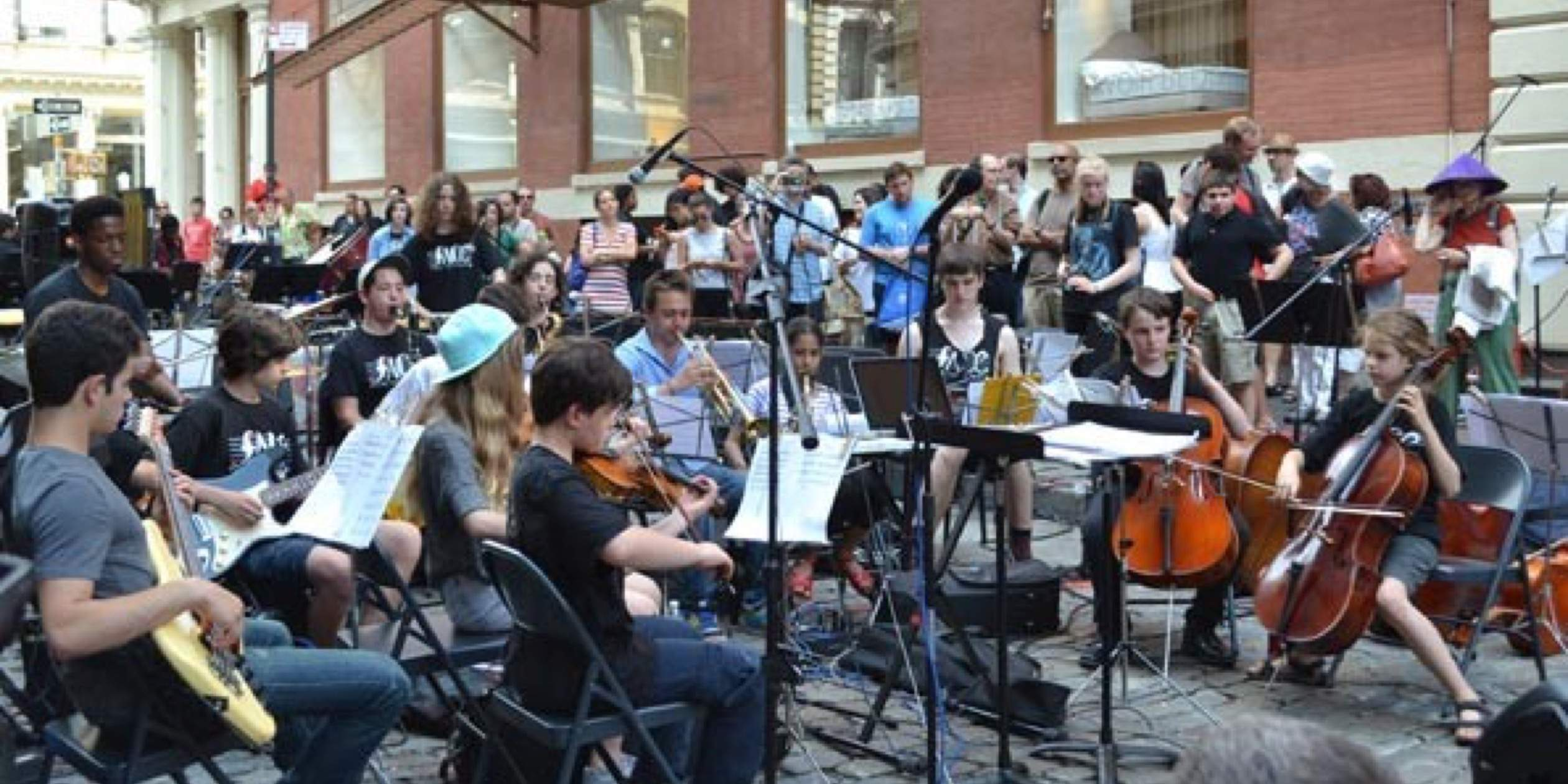 NYC's Youth New Music Ensemble Performs All Over NYC
