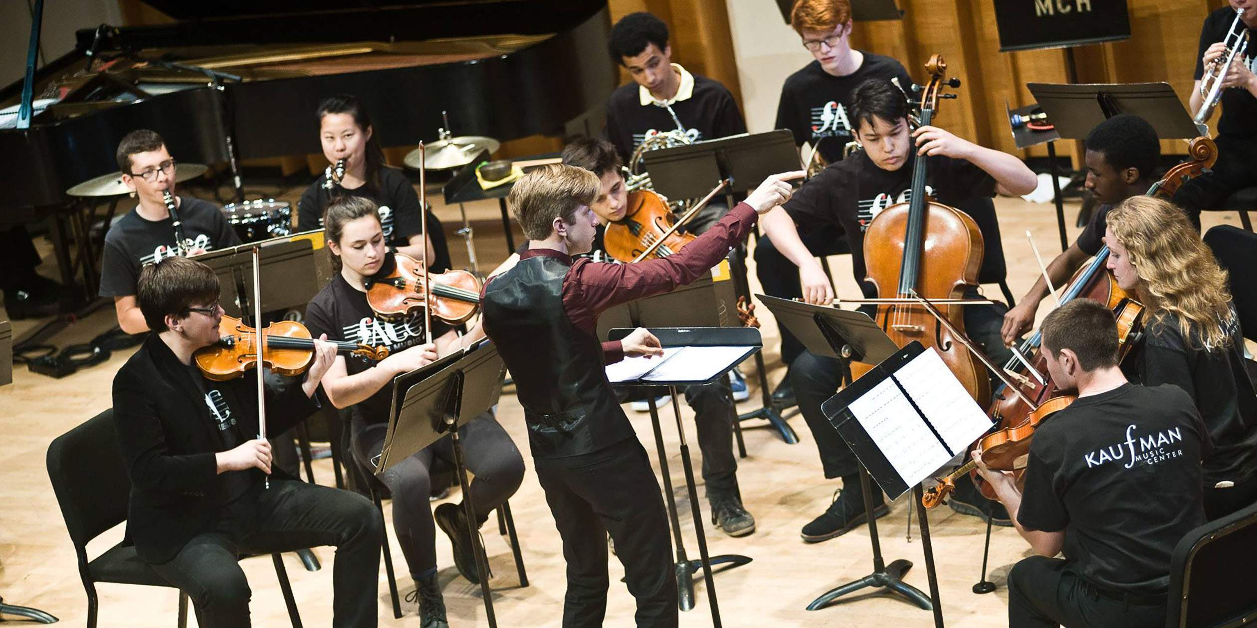 Teen Conducting Workshop with David Bloom