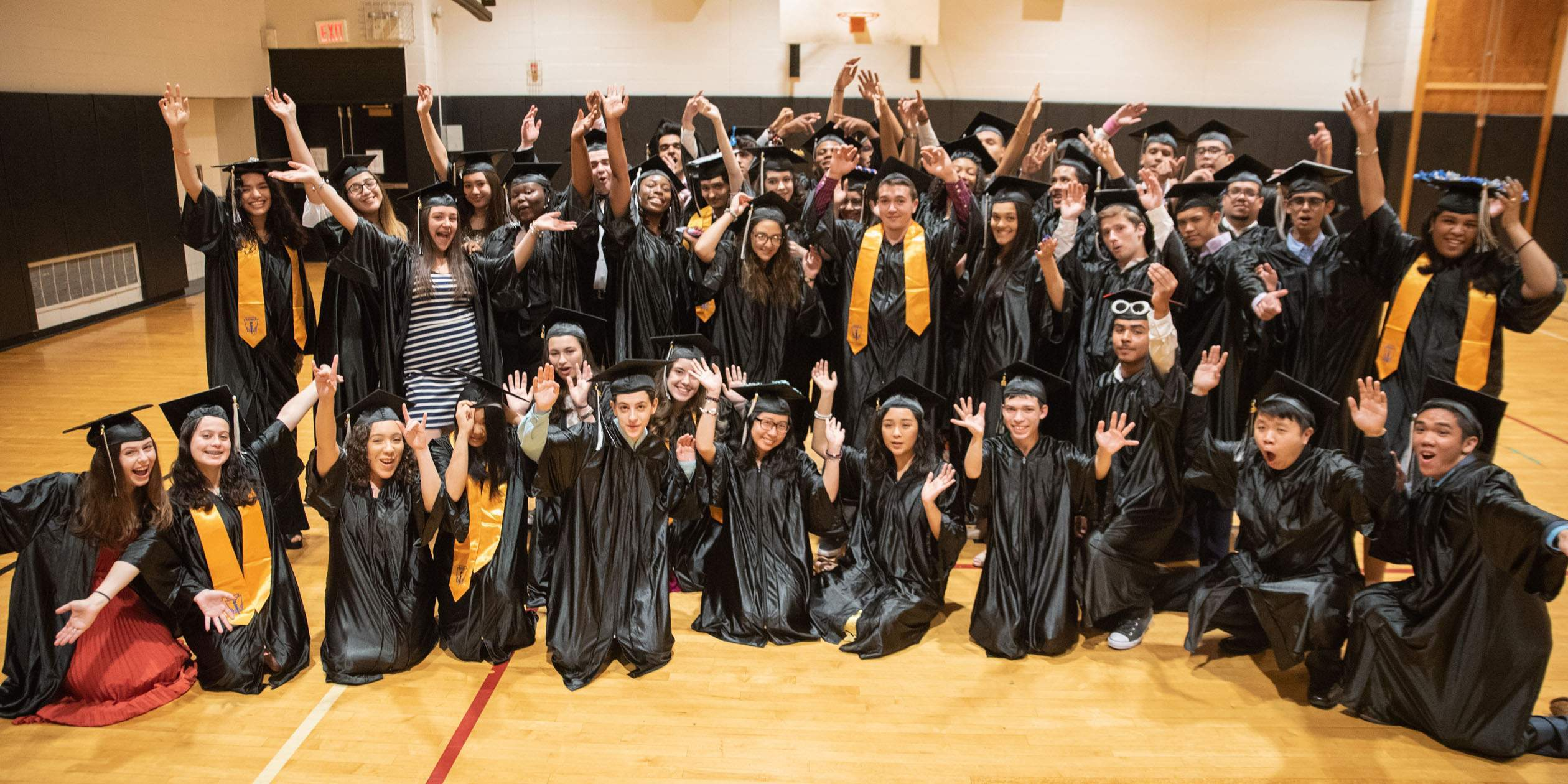Congrats to the Class of 2018 on a 100% Graduation & College Acceptance Rate!
