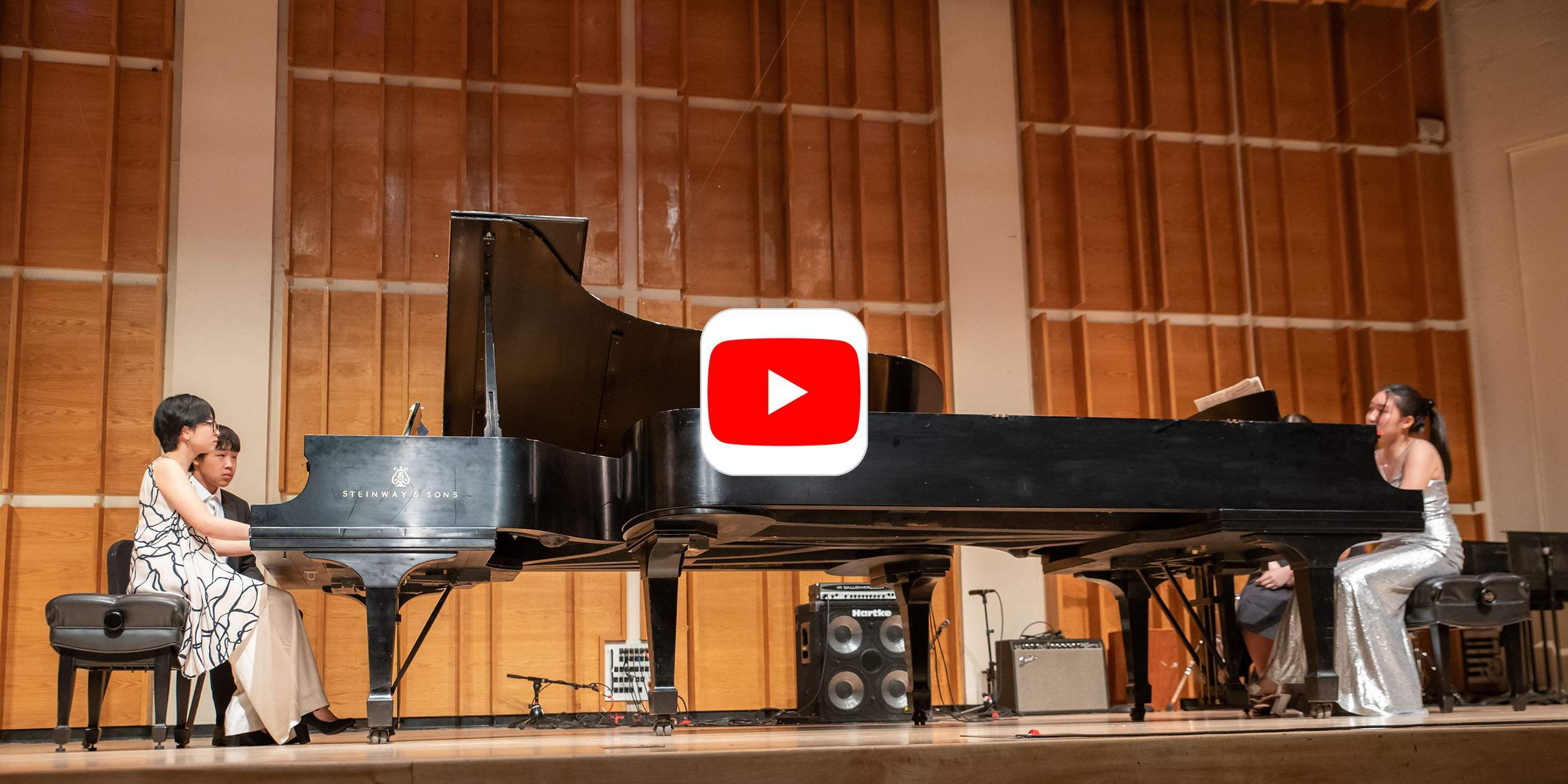 Watch SMS High School Students Perform Rachmaninoff's Suite No. 2 for Two Pianos, Op. 17