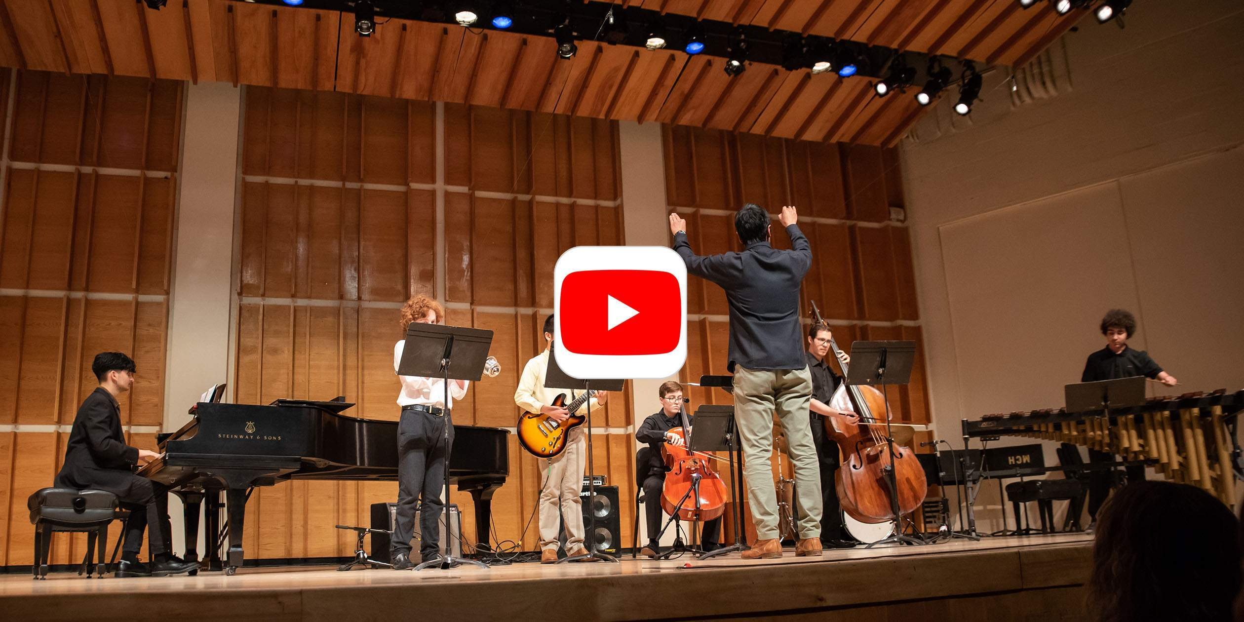 "Watch SMS High School Students Perform Michael Gordon's ""Gene Takes a Drink"""