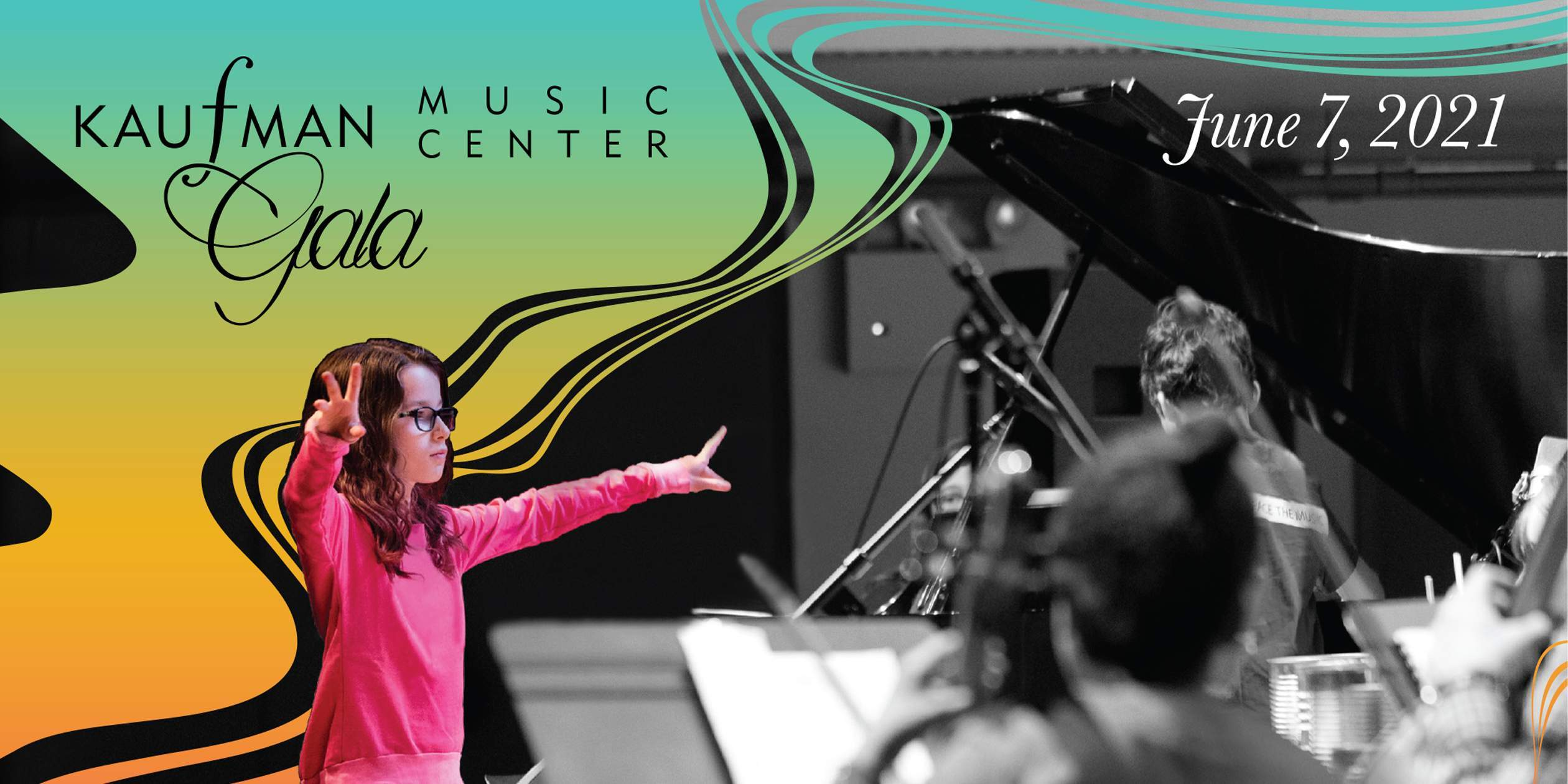 June 7: Save the Date for Kaufman Music Center's 2021 Gala!