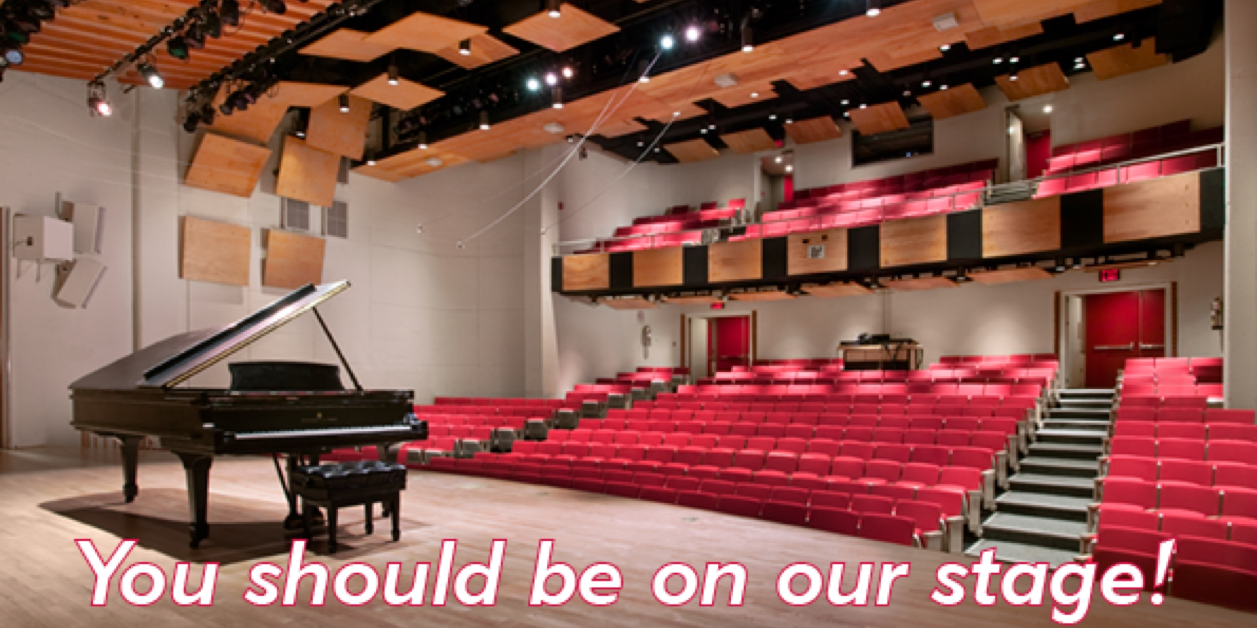 Merkin Concert Hall is perfect for your next concert or event!